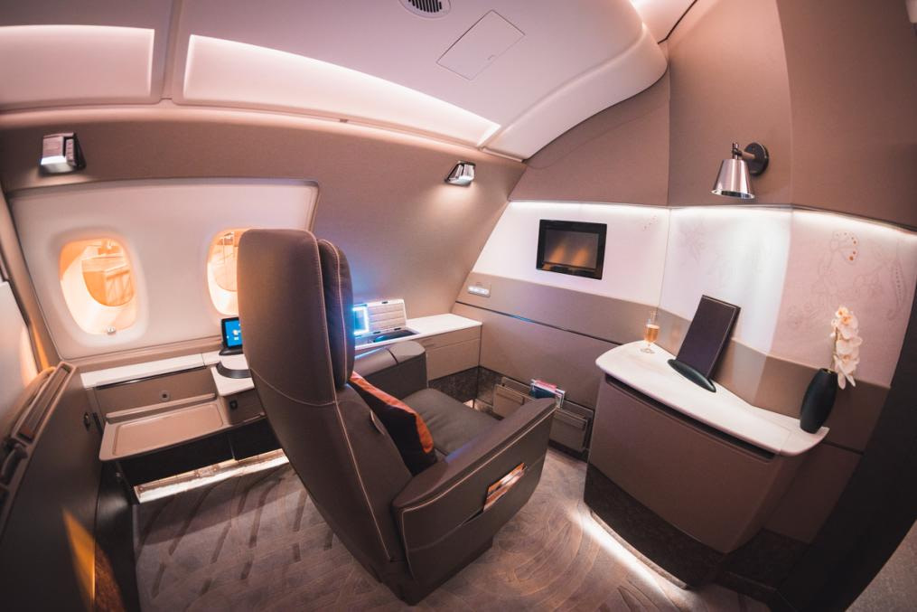 Singapore Airlines A380 First Class Suite 3347