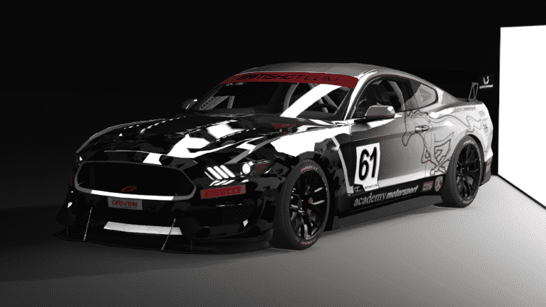 Ford Mustang GT4 - Guerilla Mods GT4